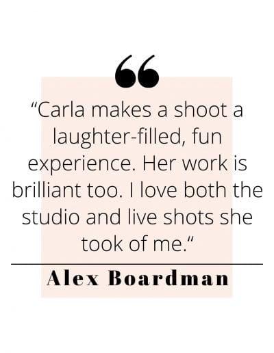 Alex Boardman Quote