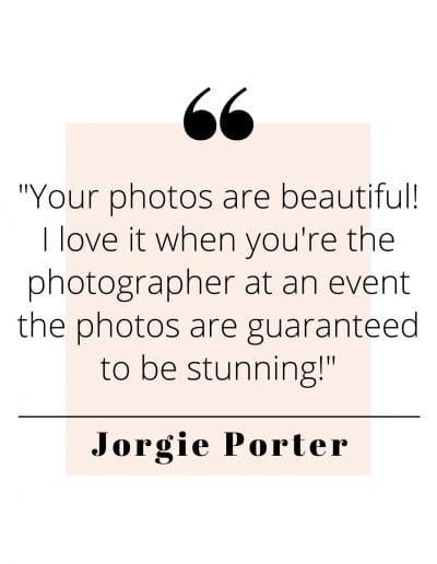 Jorgie Porter Quote