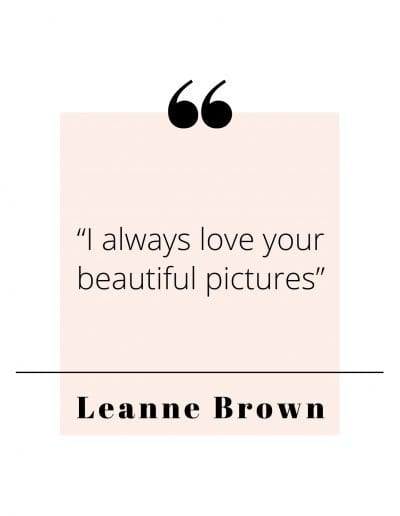 Leann Brown Quote