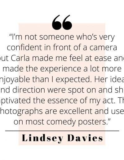 Lindsey Davies Quote