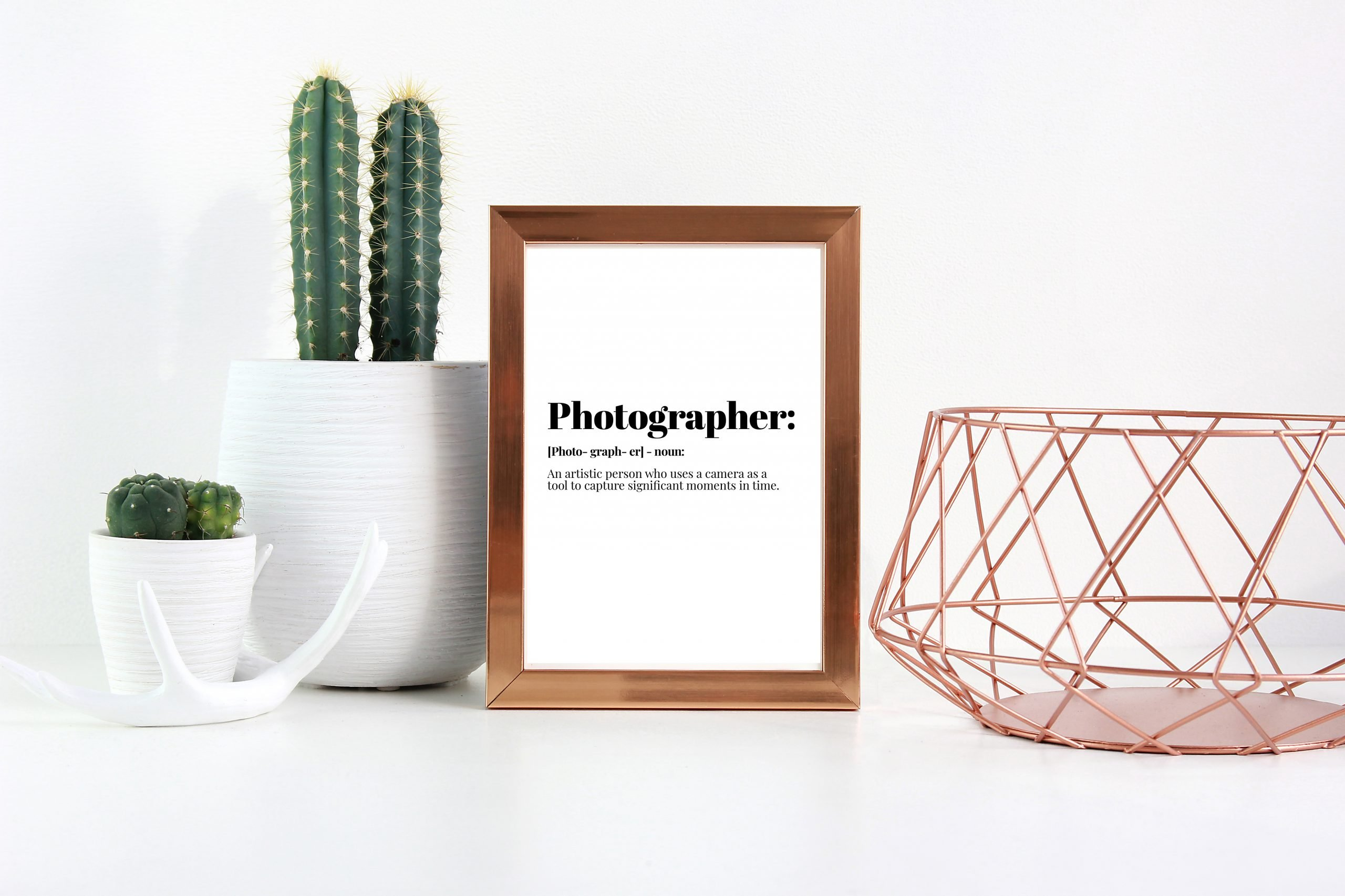 Photographer Definition Print