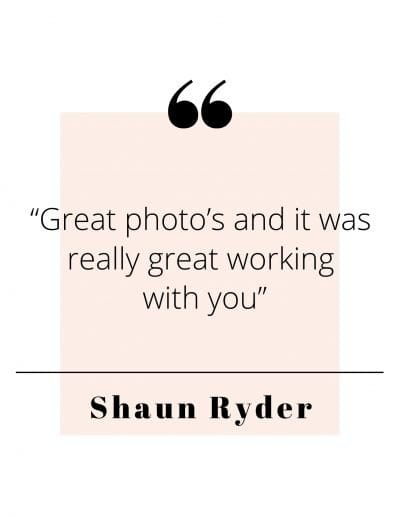 Shaun Ryder Quote